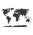 Earth Map vector image