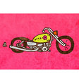 Motorbike Cartoon vector image