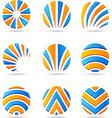 set of Company Logos vector image