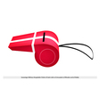 A Whistle of The Sovereign Military Order of Malta vector image vector image