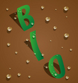 bio design vector image