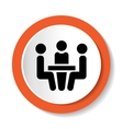 Icon- Conference vector image
