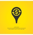 Money transfer icon pointer vector image