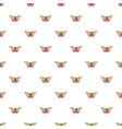 esmeralda butterfly pattern seamless vector image