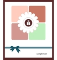 A nice card for your holiday vector image