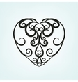 Heart Pattern 08 A vector image