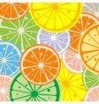 seamless lemon vector image