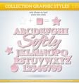 Softly Graphic Style for Design vector image