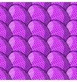 Egg Undulate Pattern vector image