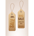 set of reto discount tags vector image vector image