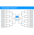 Tournament Bracket vector image vector image
