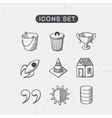 Miscellaneous symbols set vector image