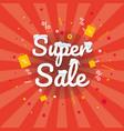 super sale banner discount banner eps 10 vector image
