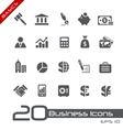 Business Finance Basics Series vector image
