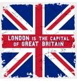 England flag poster vector image