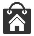 Buy Home Flat Icon vector image