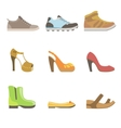 Different Shoes Set vector image