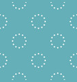 european union pattern seamless blue vector image