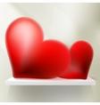 Valentine Hearts Background EPS 10 vector image