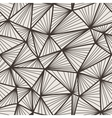 seamless pattern of polygonal lines in a vector image