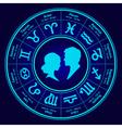 horoscope love vector image