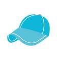 sport cap accessory fashion cloth protection vector image