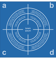 target infographic vector image
