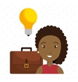 people with suitcase isolated icon design vector image