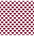 Hearts Pattern on White Background vector image
