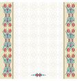 Antique ottoman turkish pattern design ninety two vector image