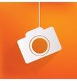 Photo camera web iconflat design vector image