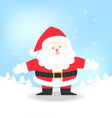 Santa Claus for Christmas vector image