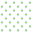 Chamomile seamless pattern Simple floral design vector image