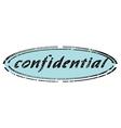 confidential vector image vector image