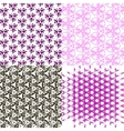 Set of pattern Modern stylish texture Repeating vector image