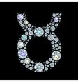 zodiac Taurus vector image