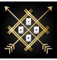 Casino icons design vector image