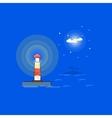 Lighthouse outline cartoon vector image