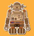 14 Robot toys VS vector image