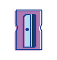 sharpener study tool to do homework vector image