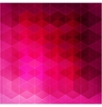 Abstract color geometric background vector image