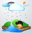 rainland vector image vector image