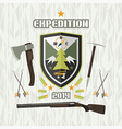 Expedition emblem vector image