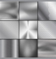metal texture pattern background metallic vector image