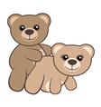 Bear sex vector image