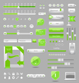 web elements design vector image