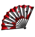fan and cards vector image