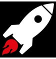 Rocket Launch Icon from Commerce Set vector image
