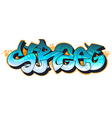 Graffiti urban art vector image vector image