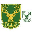 deer head symbol vector image
